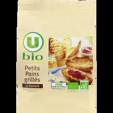 Petits pains grillés au froment U BIO, 225g
