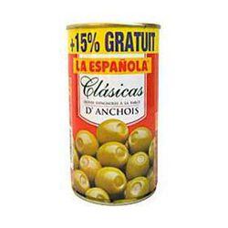 Olives vertes à la frace d'anchois LA ESPAGNOLA, 350g