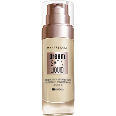 Fond de teint liquide dream satin fluide nu 10 ivoire MAYBELLINE