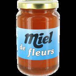 Miel de fleurs, pot en verre de 500g