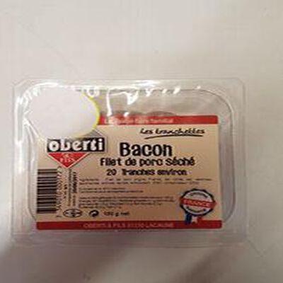 Tranchettes bacon, OBERTI, 150g