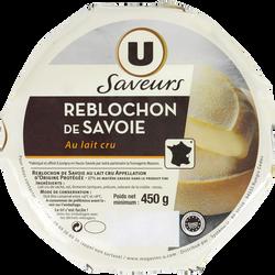 Reblochon de Savoie AOP au lait cru U SAVEURS, 28% mg, 450g