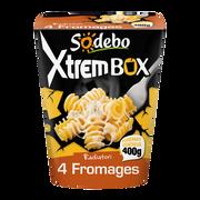 Sodeb'O Xtrem Box Radiatori 4 Fromages Sodebo, 400g