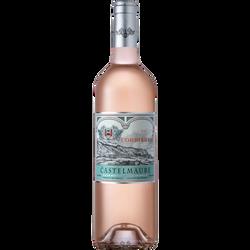 Vin rosé AOP Corbières Castelmaure, 75cl