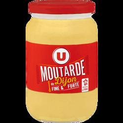 Moutarde de Dijon U, bocal atlas de 37cl, 370g