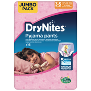 Huggies Culottes Drynites 3-5 Girls Disney 16-23kg Huggies, X16