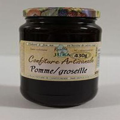 CONFITURE POMME GROSEILLE POT DE 430G