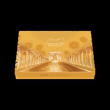 Lindt Assortiment De Bouchées Au Chocolats Noirs Extra Fins Champs-elysées Édition Or , Boîte De 468g
