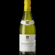 Vin blanc Montagny 1er cru AOP Signé Bourgogne, bouteille de 75cl