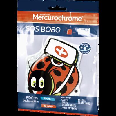 SOS BOBO poche double action chaud & froid MERCUROCHROME