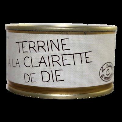 Terrine à la clairette de Die LA CUISINE D'ANNETTE, 130g