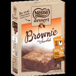Préparation pour brownie aux pépites de chocolat NESTLE, paquet de 405g
