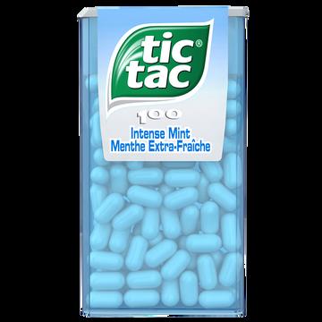 Tic Tac Tic-tac À La Menthe Extra Fraîche, 49g