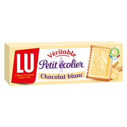PETIT ECOLIER au chocolat blanc Lu, 150g