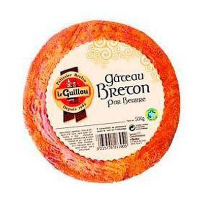 Gâteau breton pur beurre 500g LE GUILLOU