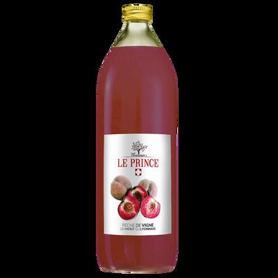 Nectar de pêche de vigne THOMAS LE PRINCE, 1 litre