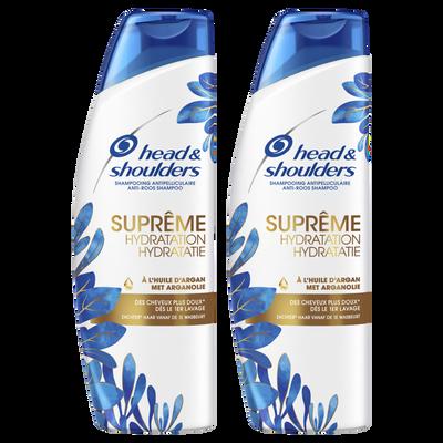 Shampooing sup.hydratation HEAD&SHOULDERS 2x250ml