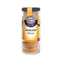 Muscade moulue, SAINTE LUCIE, flacon de 50g.