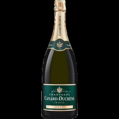 Champagne brut CANARD DUCHENE, magnum de 1,5l