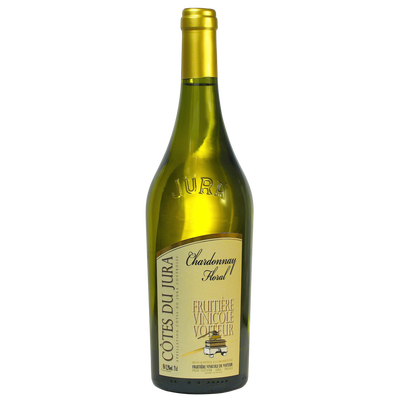 Côtes du Jura Chardonnay floral FRUITIERE VINICOLE DE VOITEUR, bouteille 0.75l