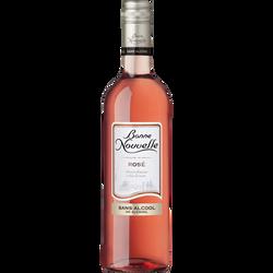 Vin rosé sans alcool BONNE NOUVELLE, 0°, 75cl
