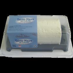 Sainte maure blanche lait pasteurisé de chèvre, 17%MG, 200g