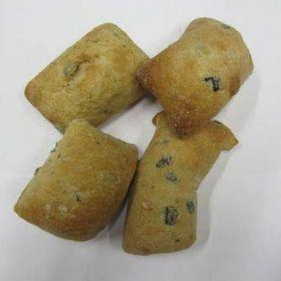 Petits pains aux olives et herbes x4,150gr