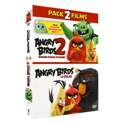 Dvd Angry birds-diptyque x2