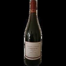 """Vin rouge AOC Chinon """"Domaine de Grézille vendanges manuelles"""",  bouteille de 75cl"""