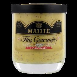 "Moutarde ""Fins Gourmets"" MAILLE, verrine de 155g"