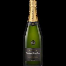 Champagne brut NICOLAS FEUILLATTE, Grande Réserve, 1,5l