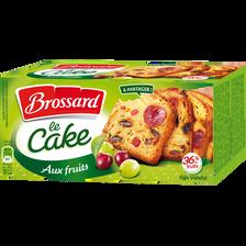 Cake au fruits BROSSARD, 300g