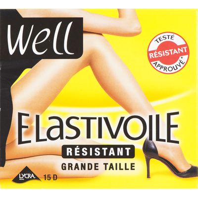 COLLANT RESISTANT GRANDE TAILLE ELASTIVOILE WELL