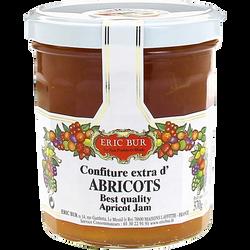 Confiture extra abricots ERIC BUR, 370g