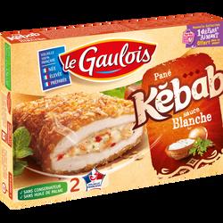 Pané de volaille Kebab, LE GAULOIS, 2 pièces, 200g