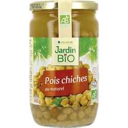 POIS CHICHES AU NATUREL JARDIN BIO
