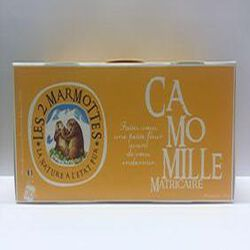 Infusion Camomille matricaire, LES 2 MARMOTTES, 30 g