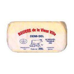 Beurre demi-sel LA VIEUX VILLE, 250g