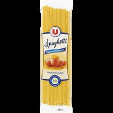 Spaghetti aux oeufs IGP d'Alsace U, sachet de 250g