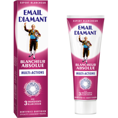 Dentifrice blancheur absolue EMAIL DIAMANT, tube de 75ml