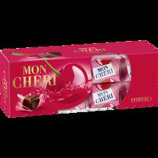 Cerises à la liqueur MON CHERI, boîte de 16 unités, 168g