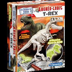 Archéo ludic t-rex CLEMENTONI, phosphorescent