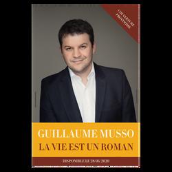 La vie est un roman-Auteur:Guillaume MUSSO