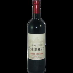 Vin rouge AOP St Emilion grand cru Château Simard, 6x75cl