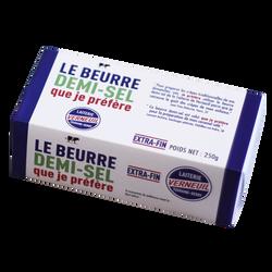 Beurre noisette demi sel 80% de MG, VERNEUIL plaquette de  250g