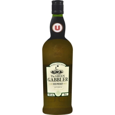 Irish Whiskey The Green Gabbler U, 40°, 70cl