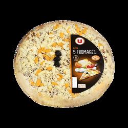 Pizza aux 5 fromages U, 475g