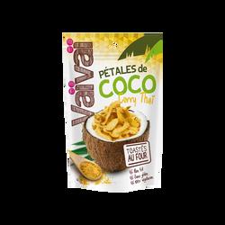 Pétales de noix de coco toastés saveur curry VAIVAI, soit 40g