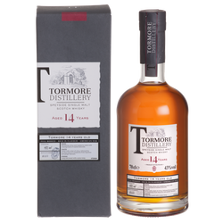 Scotch whisky Blend TORMORE, 14 ans, 43°, 70cl