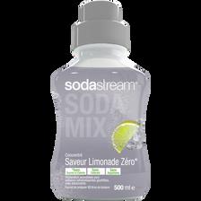 Sodastream Concentré Limonade Zéro , Bouteille De 500ml